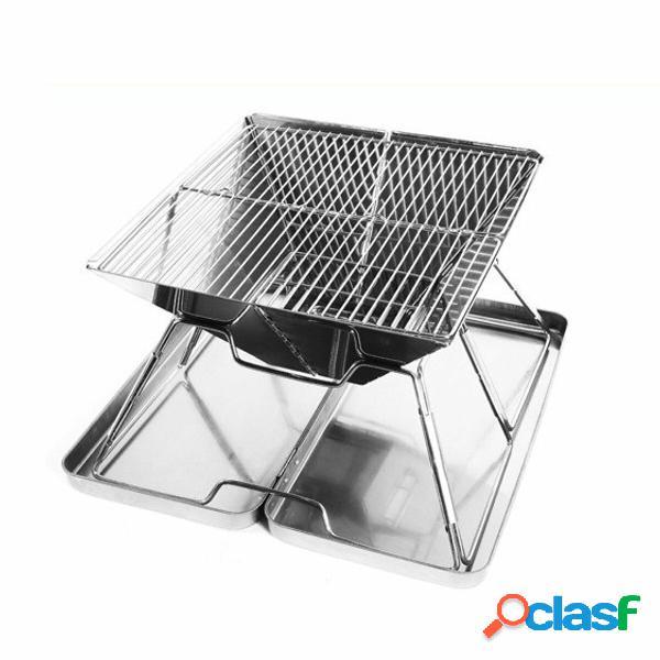 Barbecue portatile pieghevole per barbecue Grill a carbone