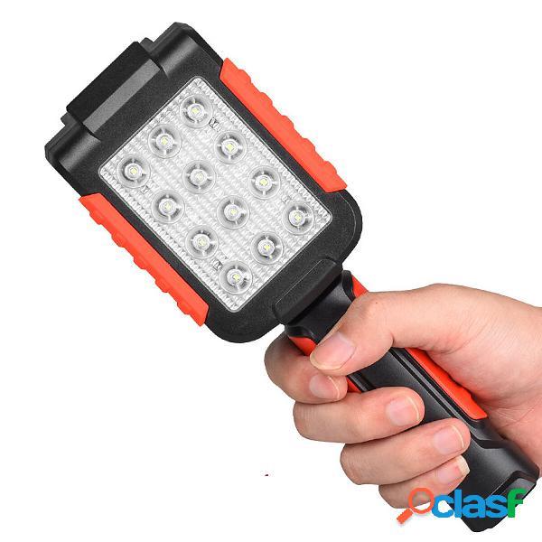 COB / LED Lampada da lavoro con ricarica USB / Batteria Tipo