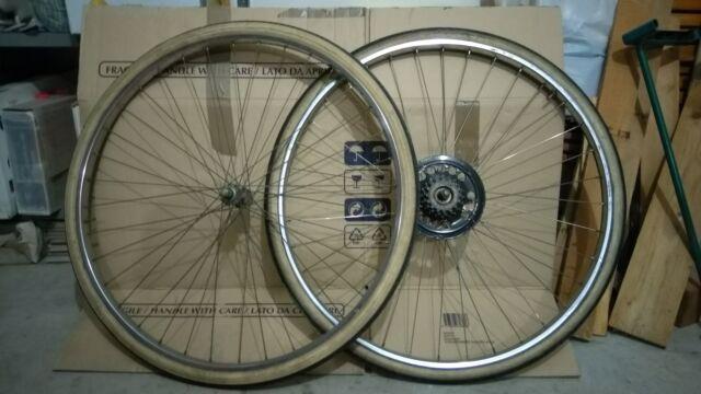 """Cerchio anteriore e posteriore per City Bike 28"""""""