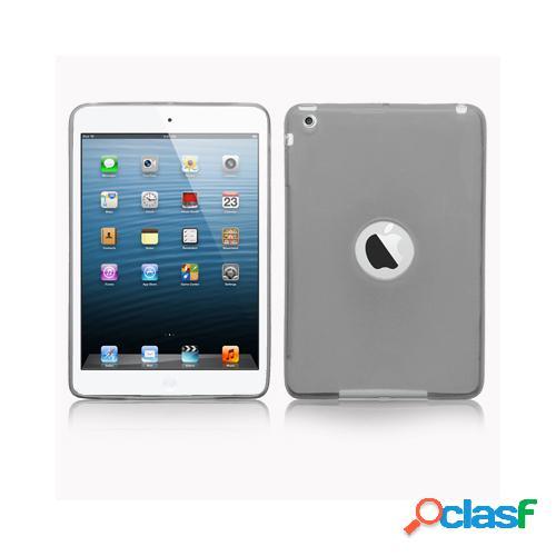 Custodia in TPU color Nero trasparente per Apple iPad Mini