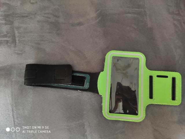 Fascia porta cellulare per la corsa