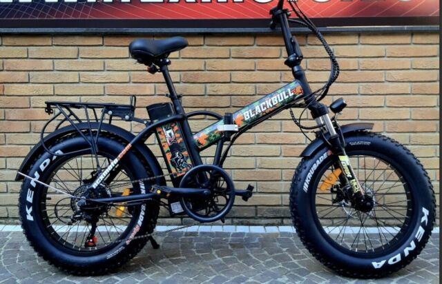 Fat bike elettriche pieghevole nuove