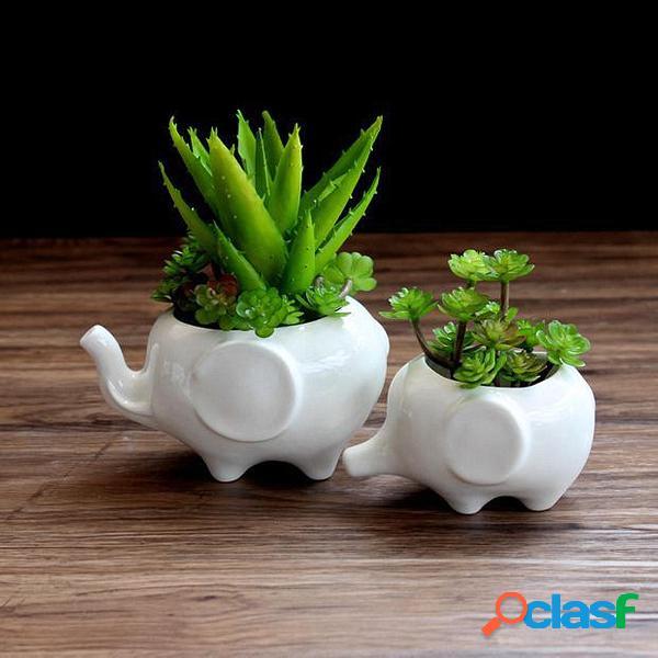 Fioriera in vaso da giardino per piante succulente in resina