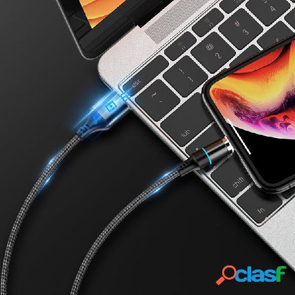 Floveme 3A Type C Micro USB LED Cavo dati magnetico