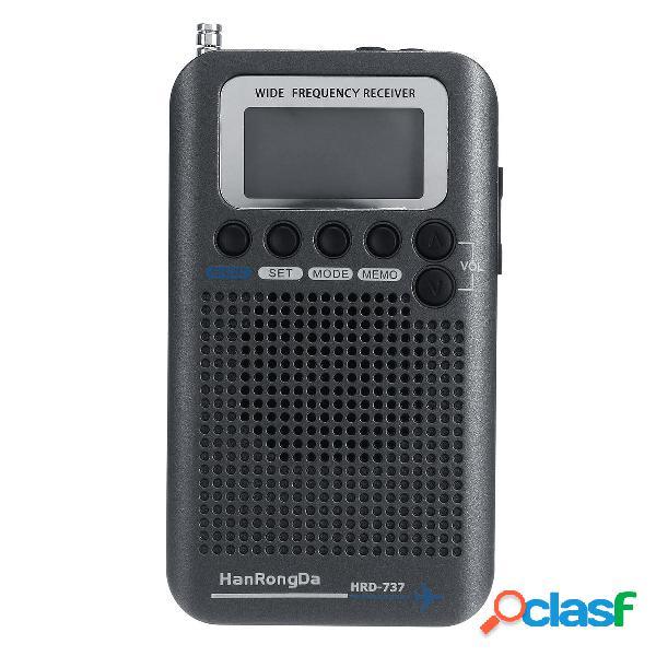 Full Bands Portable Digital AIR FM AM CB SW VHF Radio LCD