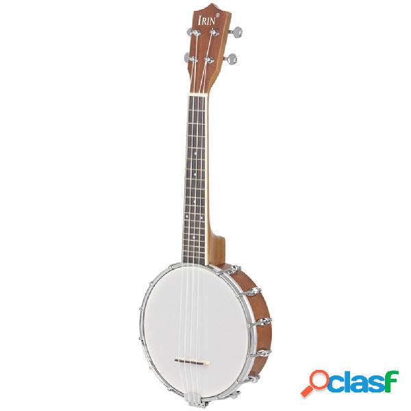 IRIN 23 Pollici Banjo Sapele Wood 4 Strings Banjolele