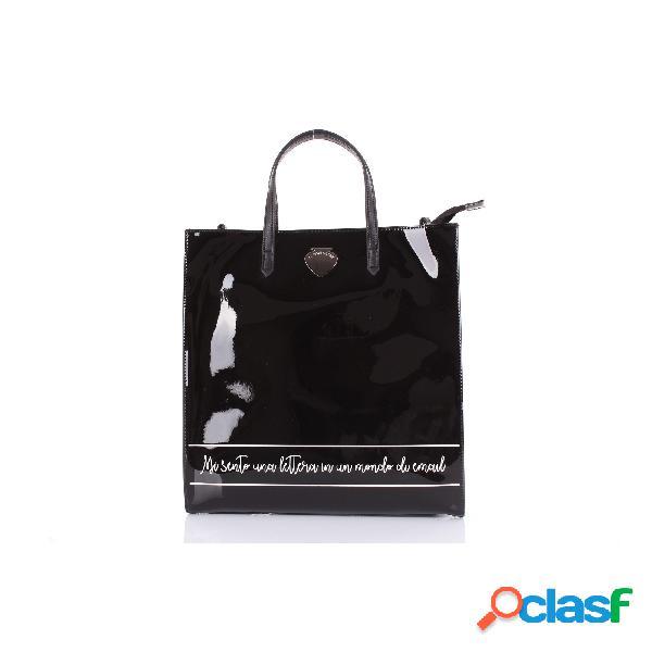 Le pandorine borsa a mano di colore nero