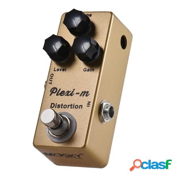 MOSKY Plexi-m Distorsione Pedale effetti per chitarra