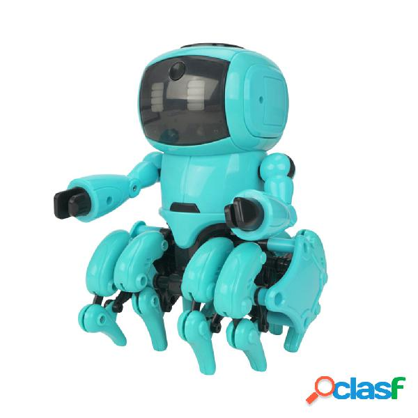Mofun 962 DIY STEAM a 8 zampe Smart RC Robot Gesto Sensing