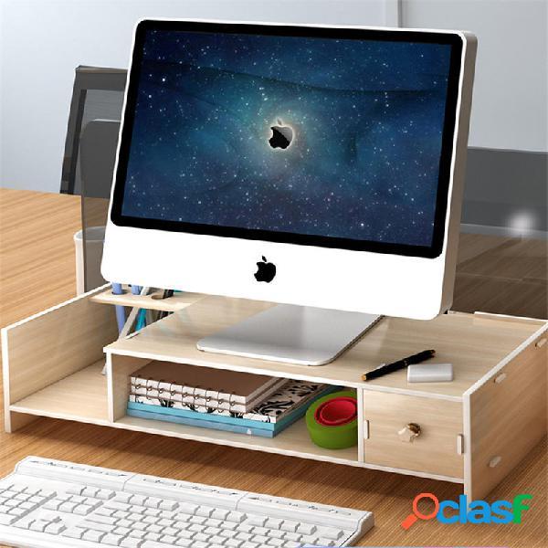Multifunzione Desktop Organizzatore Supporto per monitor da