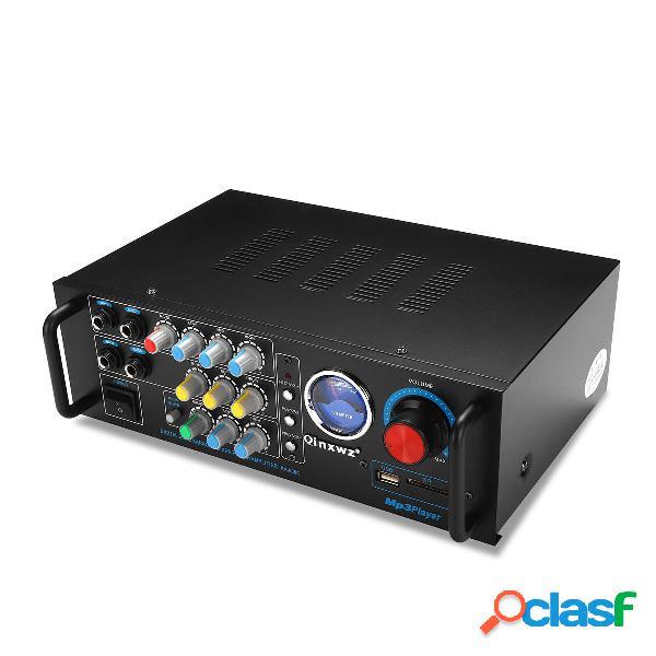 Qinxwz KA-638C 2CH 80 W UV Metro Amplificatore Karaoke