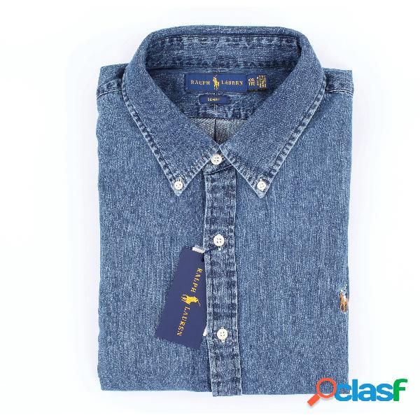 Ralph Lauren camicia in denim slim fit