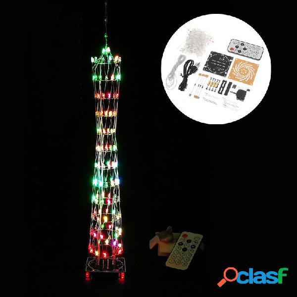 Set Fai Da Te Mini Cubo di Luce LED Colorata a Forma di