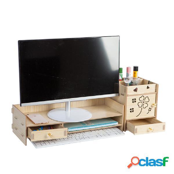 Supporto per scrivania da scrivania con supporto per monitor