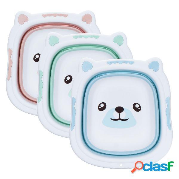 Vasca da bagno portatile per bambini Pieghevole per lavabo