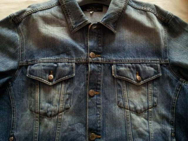 Giacca uomo in jeans tg 50