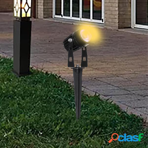 2PCS / 4PCS / 10PCS 5W COB LED Prato lampada Faretti da