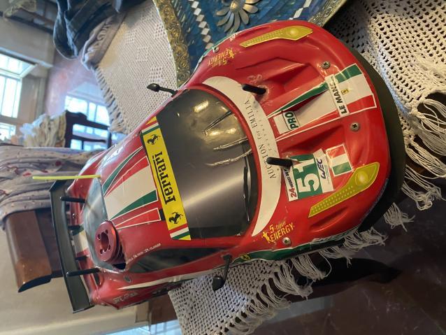 Ferrari 458 Italia GT2 da sistemare