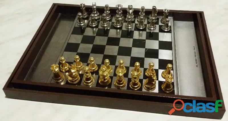 Gioco dama e scacchi Scacchiera Magnetica Calamita DAL NEGRO