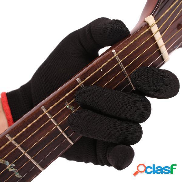 Guanto per chitarra anti-dolore con la mano sinistra Guanto