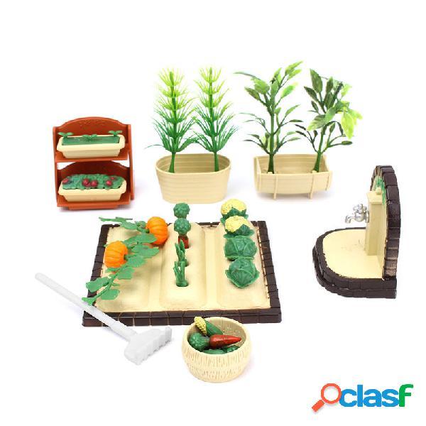 Set da gioco per bambole Spring Garden Strumenti con