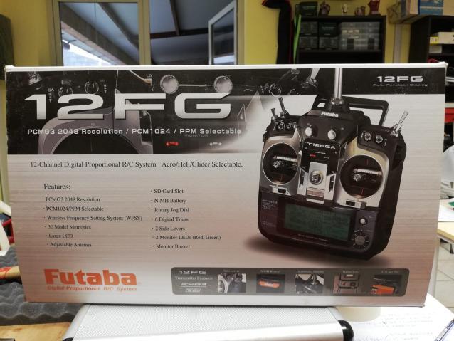 VENDESI FUTABA T12FG 2,4 Ghz