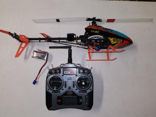 Blade 300 + Spektrum DX6i