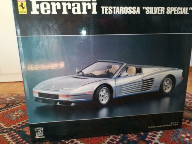 Scatola Pocher Ferrari Testarossa cabrio Agnelli scala 1/8