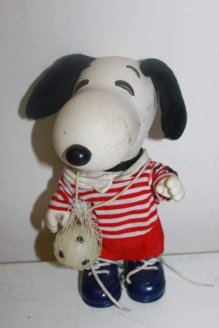 Snoopy calciatore vintage anni 80' da collezione