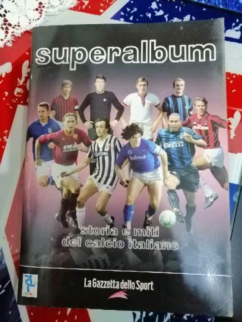 Vendo raccolte complete di album calciatori piu' Almanacco