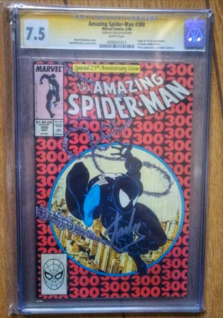 Amazing Spider Man 300 CGC 7.5 Stan Lee signature series