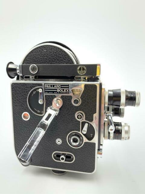 Bolex paillard h 16 - f mm camera -switzerland con