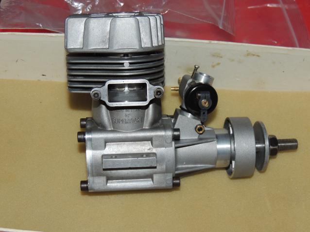 Motore a scoppio Supertigre G  cc. Made In Italy