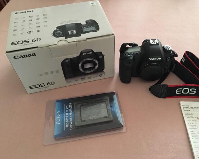 Canon EOS 6D Corpo (body) Reflex