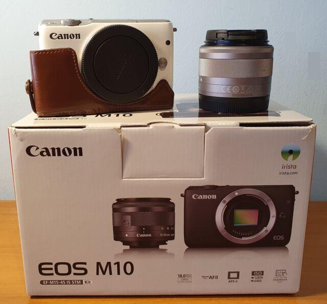Canon EOS M10 Mirrorless 18Mpx mm