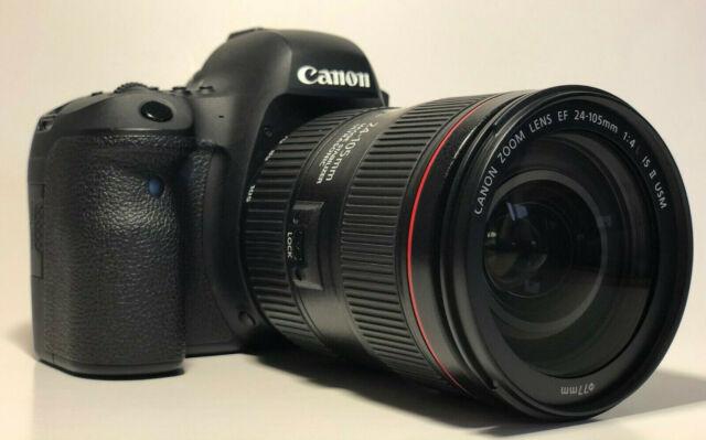 Canon eos 6D mark II +  f4 L II