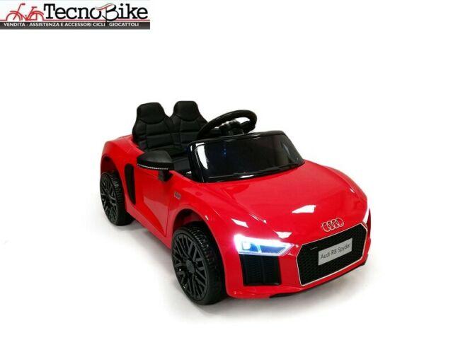 Auto Elettrica Per bambini AUDI R8 SPYDER 12V 2 Posti S.
