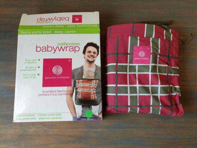 Babywrap Fascia porta bebè,da 0 a 3 anni
