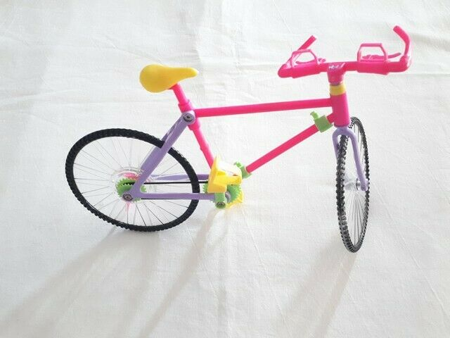 Bici mountain bike per barbie o bambola snodata