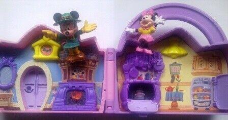 Casa DISNEY + personaggi 3D Topolino e Minnie + auto