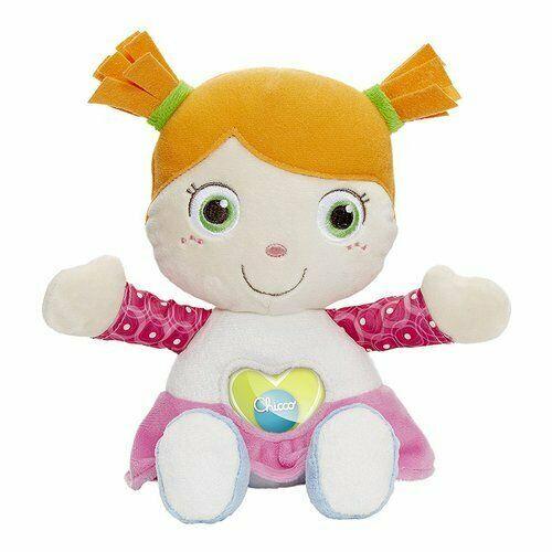 Emily è una dolce e morbida prima bambola in peluche,