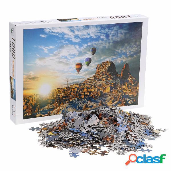 1000 pezzi Jigsaw Puzzle Toy Assemblaggio fai-da-te Puzzle