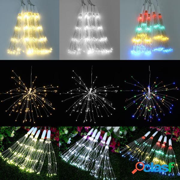 5in1 400 LED Fuochi dartificio Starburst Fairy String Light