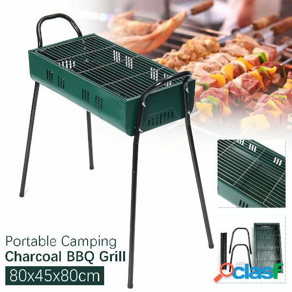 80x45x80cm Barbecue a carbonella portatile Barbecue Stufa in
