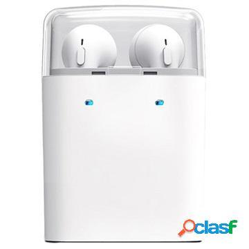Auricolare Bluetooth Senza Fili Tws Dacom Con Caricabatterie