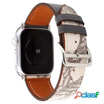 Cinturino in Pelle Pattern per Apple Watch Series 5/4/3/2/1