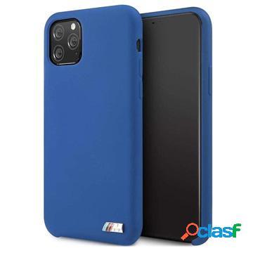 Cover in Silicone BMW M Stripe per iPhone 11 Pro - Blu