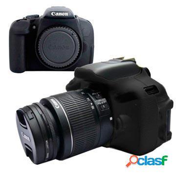 Cover in Silicone per Canon EOS 600D/650D/700D - Nero