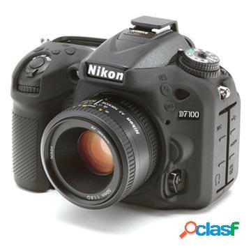 Cover in Silicone per Nikon D7100, D7200 - Nero