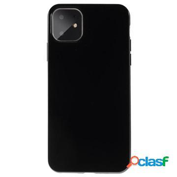 Cover in Silicone per iPhone 11 - Flessibile e Opaca - Nera